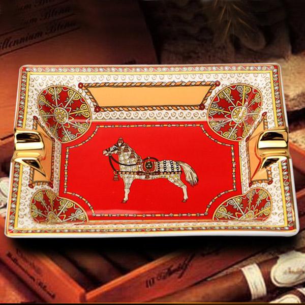 Gạt tàn Cigar Cohiba gốm sứ chính hãng loại 2 điếu - 0988 00 11 31