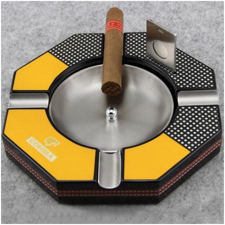 Gạt tàn Cigar (xì gà) Cohiba chính hãng kèm dao cắt Cigar Cohiba - Mã SP: 410A