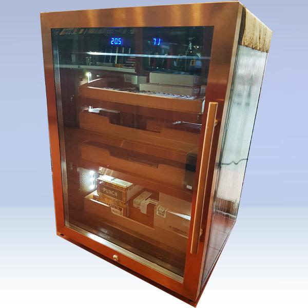Tủ bảo quản Cigar cắm điện 4 tầng cao cấp - 0988001131