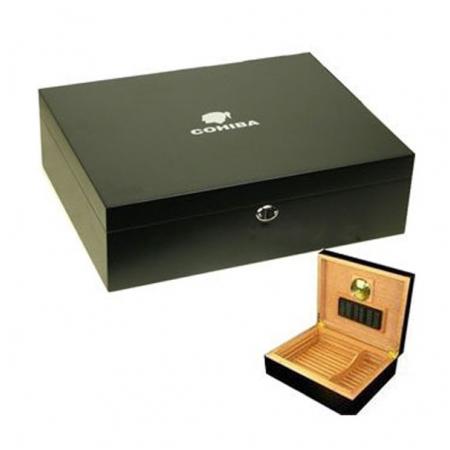 Hộp giữ ẩm Cigar (xì gà) Cohiba loại 70 điếu cao cấp - Mã SP: BYD003