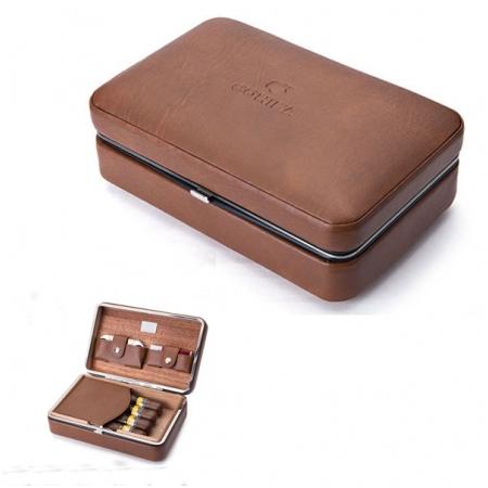 Set hộp đựng Cigar (xì gà), bật lửa Cigar (xì gà), dao cắt Cigar Cohiba - Mã SP: S002