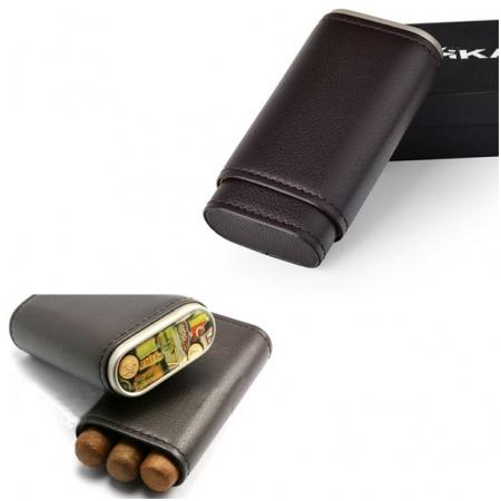 Bao da đựng Cigar Xikar chất liệu da cao cấp chính hãng- Mã SP: 249BK