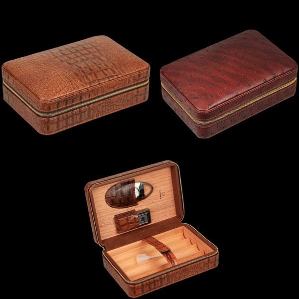 Set hộp đựng cigar, dao cắt cigar, bật lửa hút cigar  chính hãng Cohiba - 0988 00 11 31