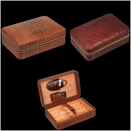 Set hộp đựng Cigar (xì gà), dao cắt cigar, bật lửa hút cigar  chính hãng Cohiba  - Mã SP: H519