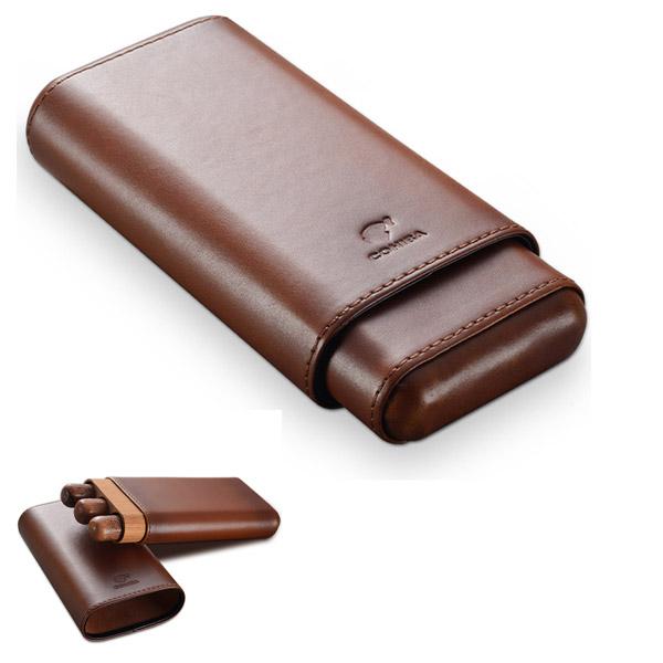 Bao da đựng Cigar Cohiba chính hãng loại 3 điếu - 0988001131