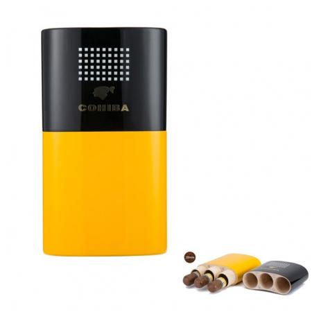 Bao da đựng Cigar (xì gà) Cohiba chính hãng loại 3 điếu - Mã SP: 5306W