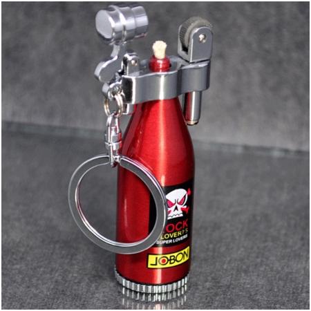 Bật lửa jobon xăng đá có móc treo chìa khóa - Mã SP: BLZB628