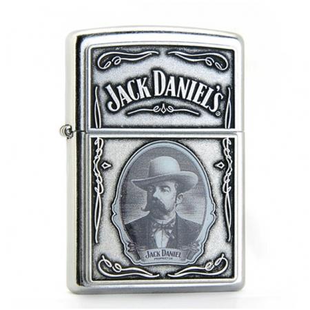 Bật lửa Zippo USA in hình chân dung Jack Daniel's - Mã SP: Z014