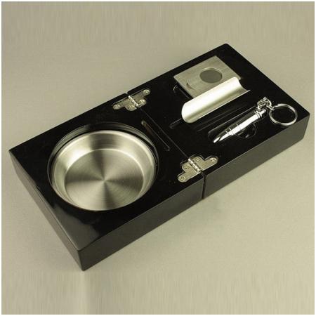 Gạt tàn Cigar (xì gà), dao cắt Cigar, đục Cigar Cohiba chính hãng - Mã SP: G104A