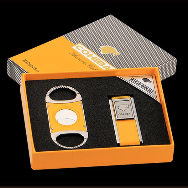 Set dao cắt Cigar, bật lửa khò Cigar Cohiba chính hãng - 0988 00 11 31
