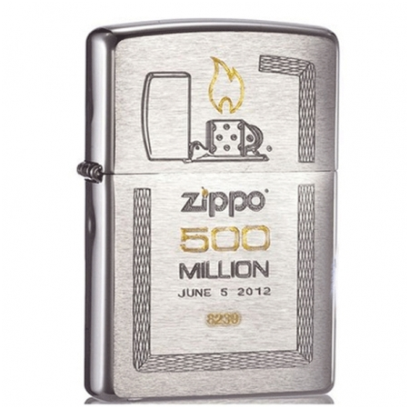 Bật lửa Zippo USA 500 Million - Mã SP: Z016a