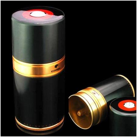 Ống đựng Cigar (xì gà) Cohiba chính hãng loại 7 điếu màu đen - Mã SP: D009