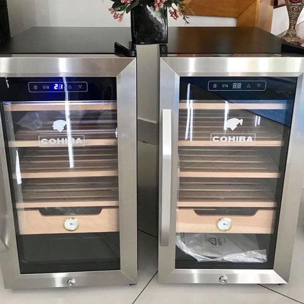 Nơi bán Tủ bảo quản xì gà cắm điện cao cấp chính hãng uy tín Cohiba H626