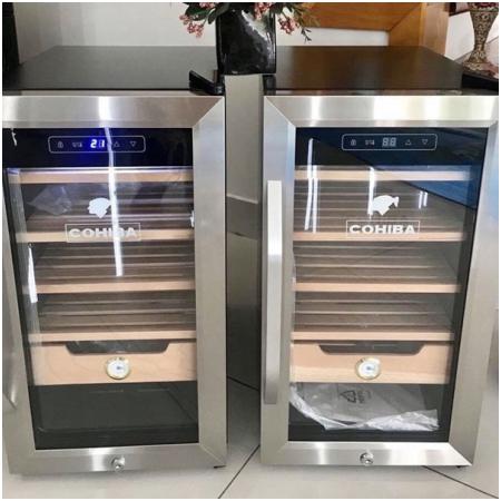 Tủ bảo quản xì gà cắm điện cao cấp chính hãng Cohiba H626