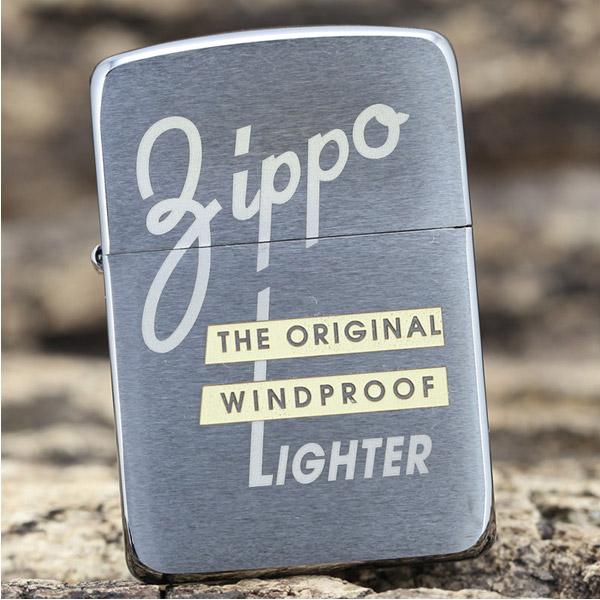 Bật lửa Zippo Mỹ khắc chữ Zippo Windproof - 0988 00 11 31
