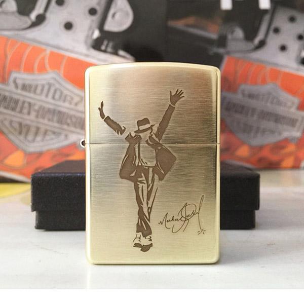 Bật lửa Zippo Mỹ in hình Michael Jackson - 0988 00 11 31