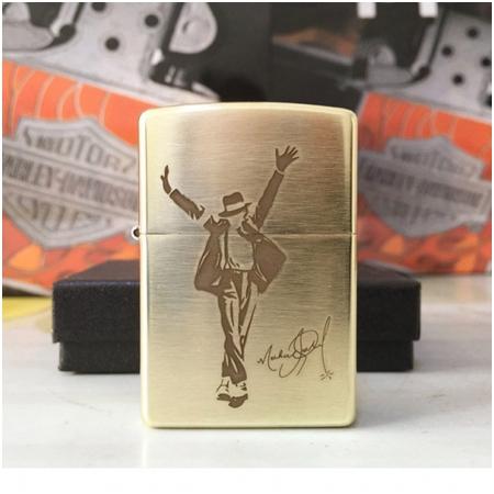 Bật lửa Zippo Mỹ in hình Michael Jackson - Mã SP: Z066