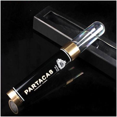 Ống đựng Cigar (xì gà) Cohiba chính hãng màu đen loại 1 điếu - Mã SP: P009D