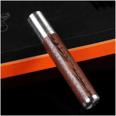 Ống đựng Cigar (xì gà) Cohiba chính hãng gỗ bọc kim loại - Mã SP: D012A