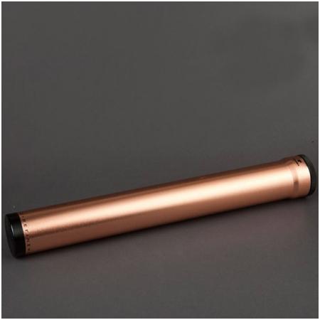 Ống đựng Cigar (xì gà) Cohiba chính hãng màu đồng 1 điếu - Mã SP: D013C