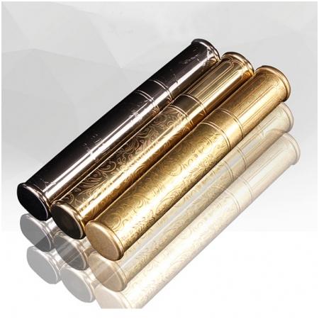 Ống đựng Cigar (xì gà) Cohiba chính hãng loại 1 điếu màu đồng - Mã SP: HB028