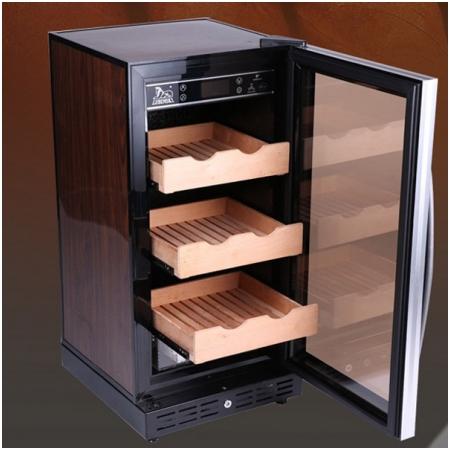 Tủ bảo quản Cigar (xì gà) cắm điện 3 tầng cao cấp - Mã SP: RA777