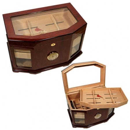 Hộp giữ ẩm Cigar (xì gà) Cohiba chính hãng chất liệu gỗ tuyết tùng cao cấp - Mã SP: H680