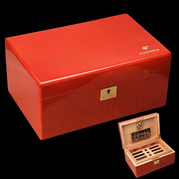 Hộp đựng Cigar Cohiba chính hãng chẩt liệu gỗ tuyết tùng - 0988 00 11 31