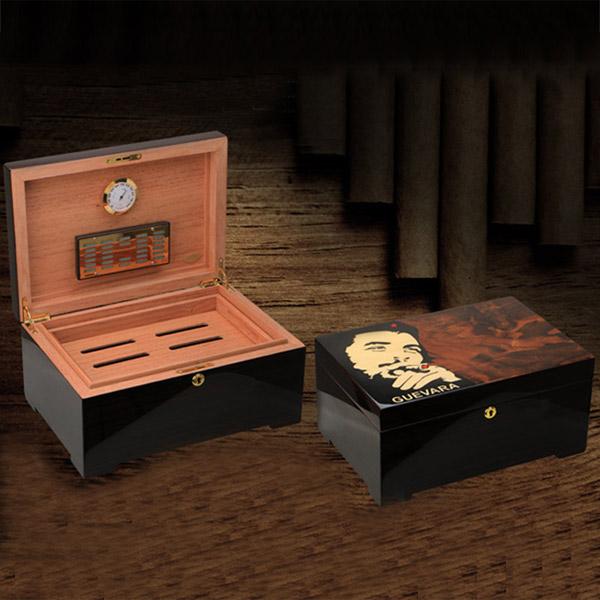 Hộp đựng Cigar Guevara cao cấp - 0988 00 11 31