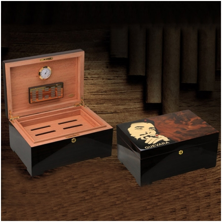 Hộp đựng Cigar (xì gà) Guevara cao cấp - Mã SP: RAG8102C