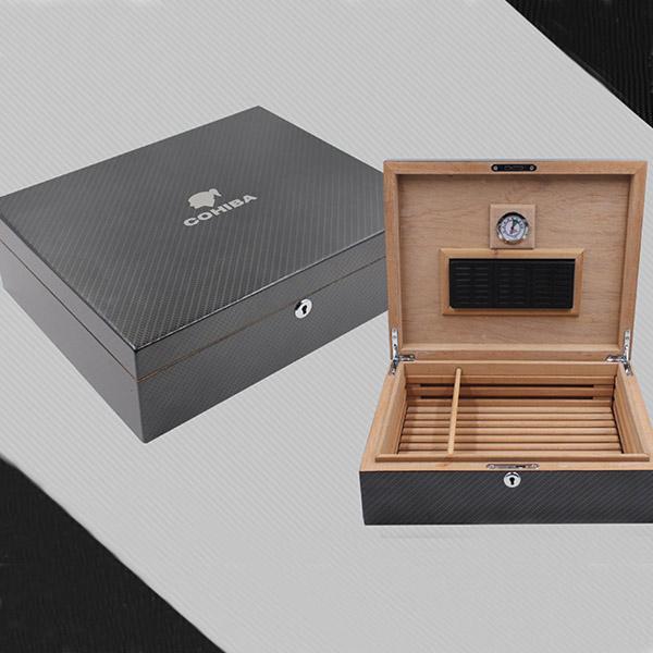 Hộp đựng Cigar Cohiba chất liệu gỗ tuyết tùng cao cấp - 0988 00 11 31