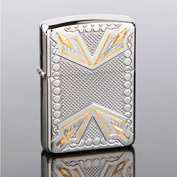 Bật lửa Zippo Mỹ khắc mũi tên trắng vàng - 0988 00 11 31