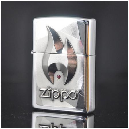 Bật lửa Zippo Mỹ gắn logo Zippo - Mã SP: Z082