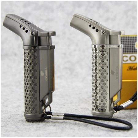 Bật lửa khò hút Cigar (xì gà) Cohiba chính hãng loại 1 tia lửa - Mã SP: BLH040