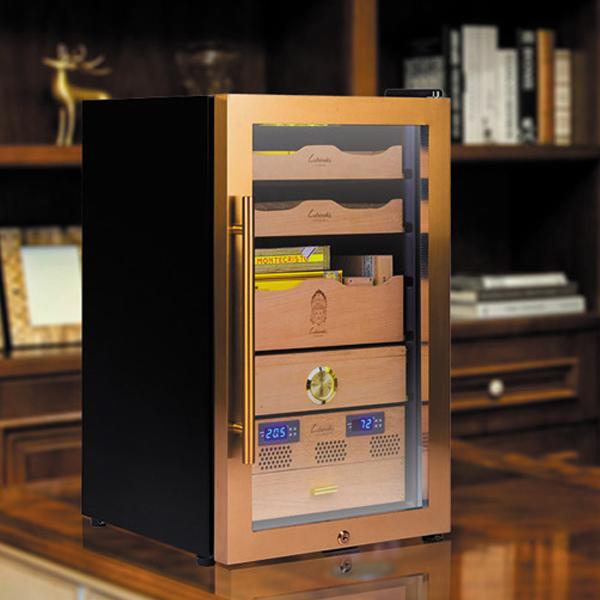 Tủ bảo quản giữ ẩm xì gà cắm điện Lubinski 3 tầng - 0988001131