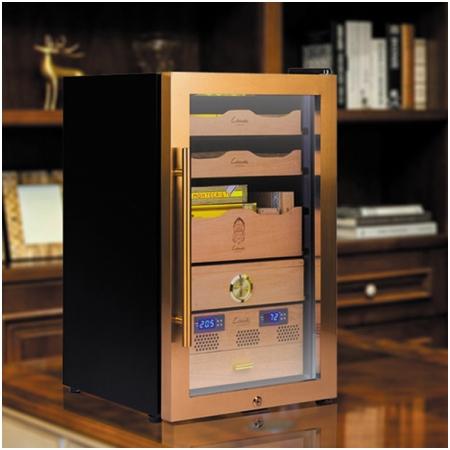 Tủ bảo quản giữ ẩm xì gà cắm điện Lubinski 3 tầng - Mã SP: RA220