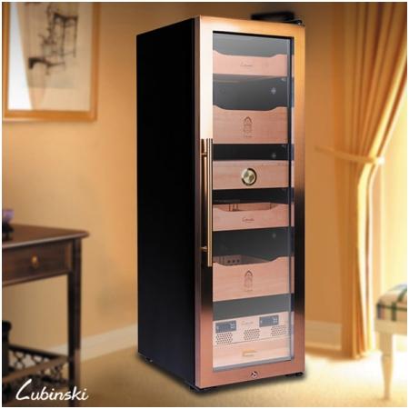 Tủ bảo quản xì gà cắm điện Lubinski 5 tầng, có khóa - Mã SP: RA330