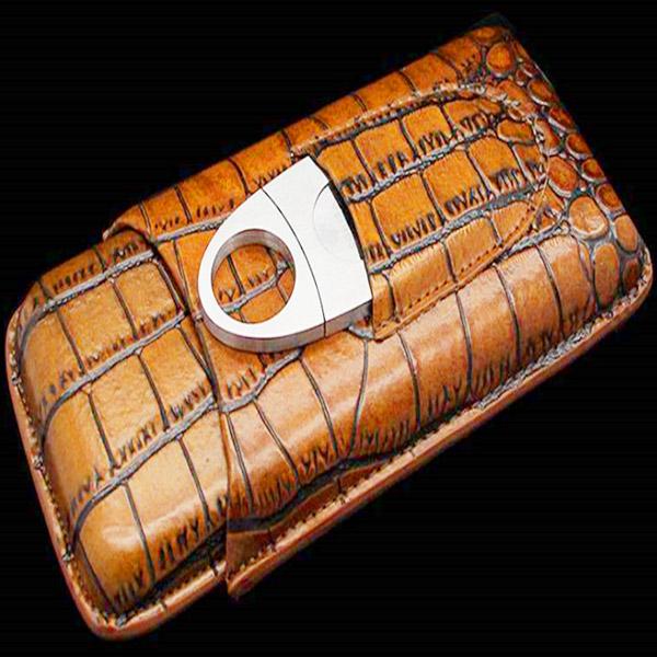 Set bao da Cigar, dao cắt Cigar Cohiba chính hãng - 0988001131