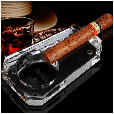 Gạt tàn Cigar Cohiba loại 1 điếu chất liệu pha lê cao cấp - Mã SP: GT001