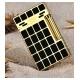 Bật lửa S.T.Dupont kẻ ca rô chữ nhật vàng đen sang trọng - Mã SP: BLD08