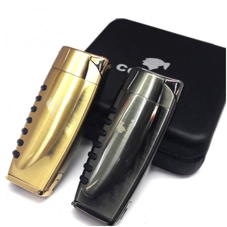 Bật lửa khò hút Cigar (xì gà) cohiba chính hãng loại 1 tia lửa có thiết bị đục xì gà - Mã SP: BLH087