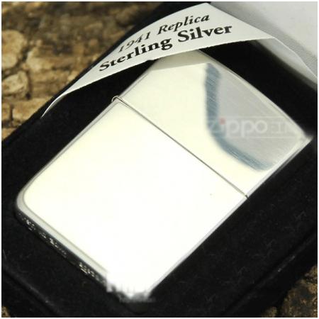 Bật lửa Zippo Mỹ màu bạc bóng - Mã SP: Z092