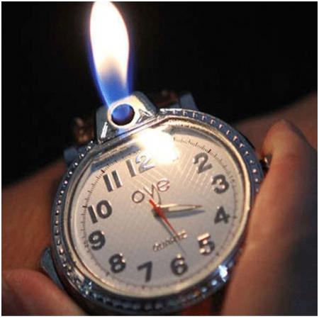 Bật lửa Đồng Hồ Đeo Tay  - Mã SP: BLD011