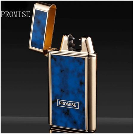 Bật Lửa Sạc điện USB Promise Hai Tia Lửa điện BN240Y-H03 - Mã SP: BLP015