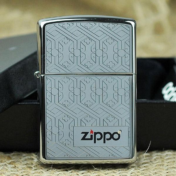 Bật lửa Zippo Mỹ khắc hình gương chạm khắc - 0988 00 11 31