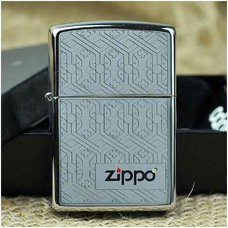 Bật lửa Zippo Mỹ khắc hình gương chạm khắc - Mã SP: Z107