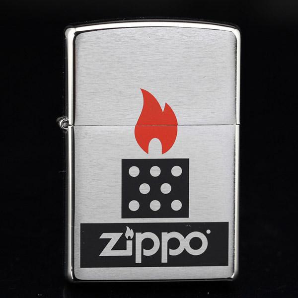 Bật lửa Zippo mỹ in hình ngọn lửa biểu tượng Zippo - 0988 00 11 31