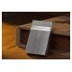 Bật lửa S.T.Dupont trắng bạc kẻ ca rô lượn sóng - Mã SP: BLD014
