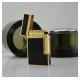 Bật lửa S.T.Dupont sơn mài đen viền vàng sang trọng - Mã SP: BLD019