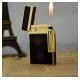 Bật lửa S.T.Dupont sơn mài đen chấm đỏ viền vàng siêu sang - Mã SP: BLD020